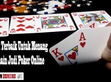 Menang Bermain Judi Poker Online