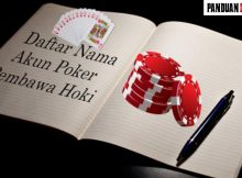 Nama Nama Pembawa Hoki Untuk Judi Poker Online