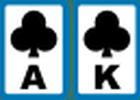 card as & king