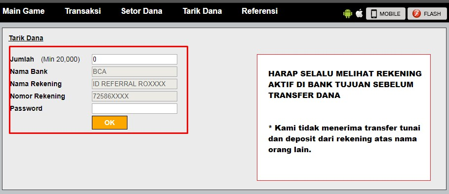 form withdraw agen dominoqq online