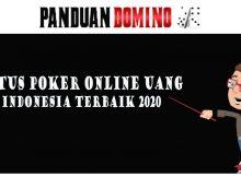 Situs poker online uang indoensia terbaik 2020