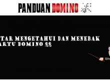 Mengetahui kartu Domino QQ milik lawan Dan Pintar Menebak