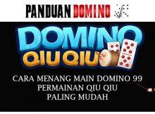 Domino 99 Permainan QQ Paling Mudah