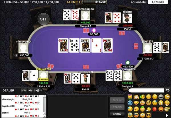 adu kartu bandar poker online terbaik