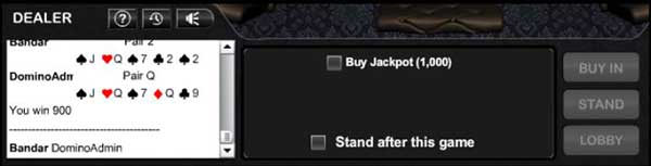 tiket jackpot bandar poker online
