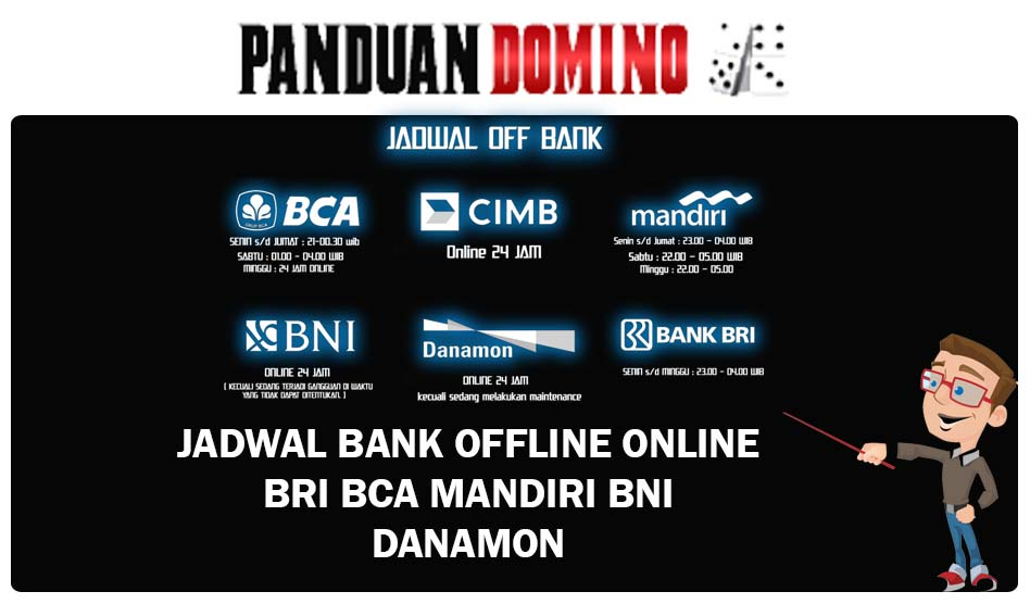 Jadwal Bank Offline Online Bca Mandiri Bni Danamon Bri
