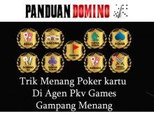 Trik Main Poker Kartu Di Agen Pkv Games