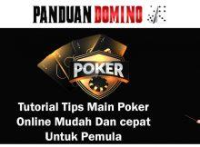 Tips Main Poker Online